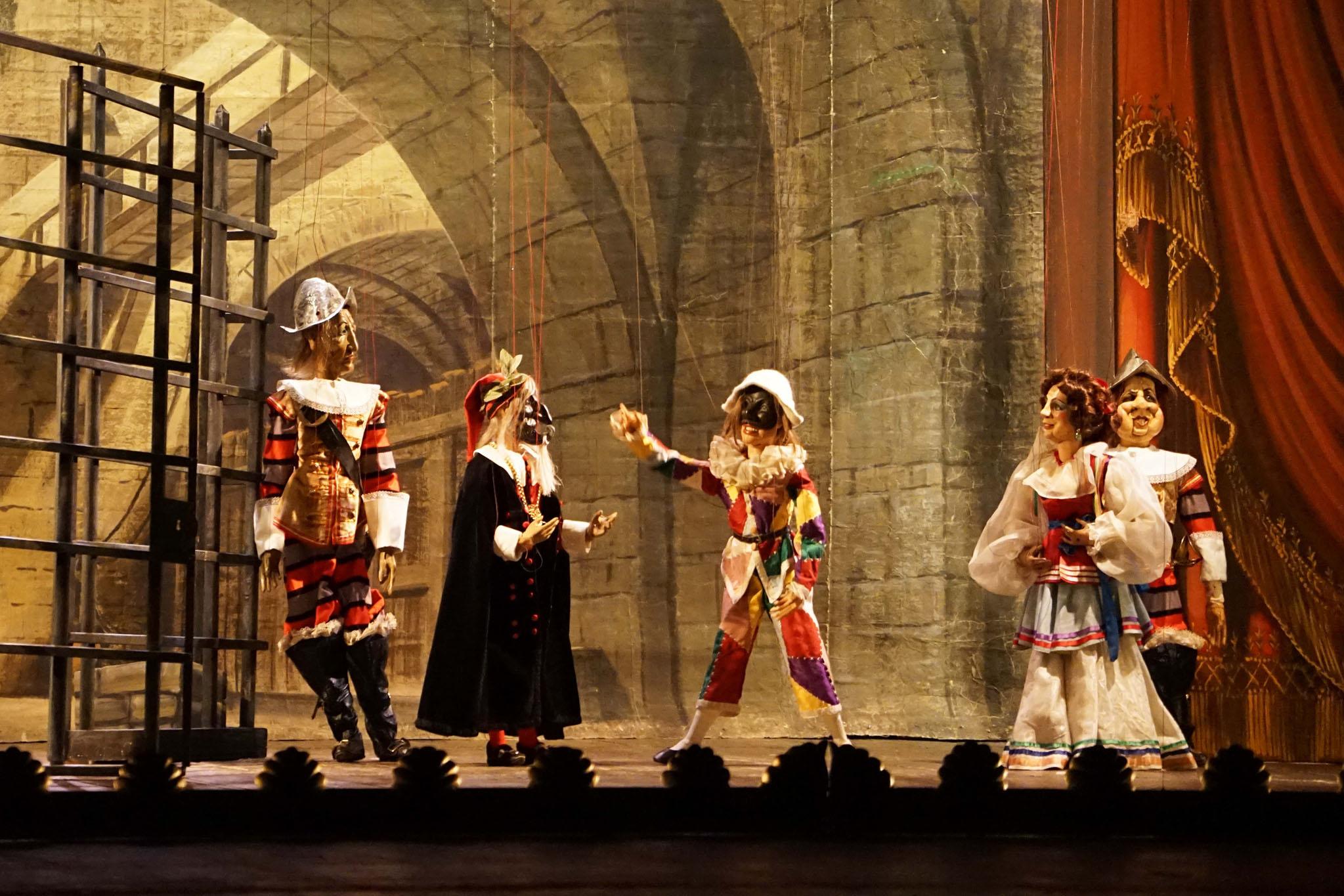 Filone (voce Giorgio Marcello), Girello (voce Giorgio Marcello), Pasquella (voce Alberto Allegrezza) - PHOTOCREDIT: IMAGINARIUM