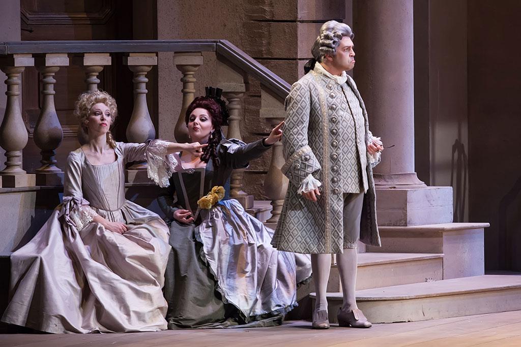 Matrimonio In Segreto : Torino teatro regio il matrimonio segreto operaclick