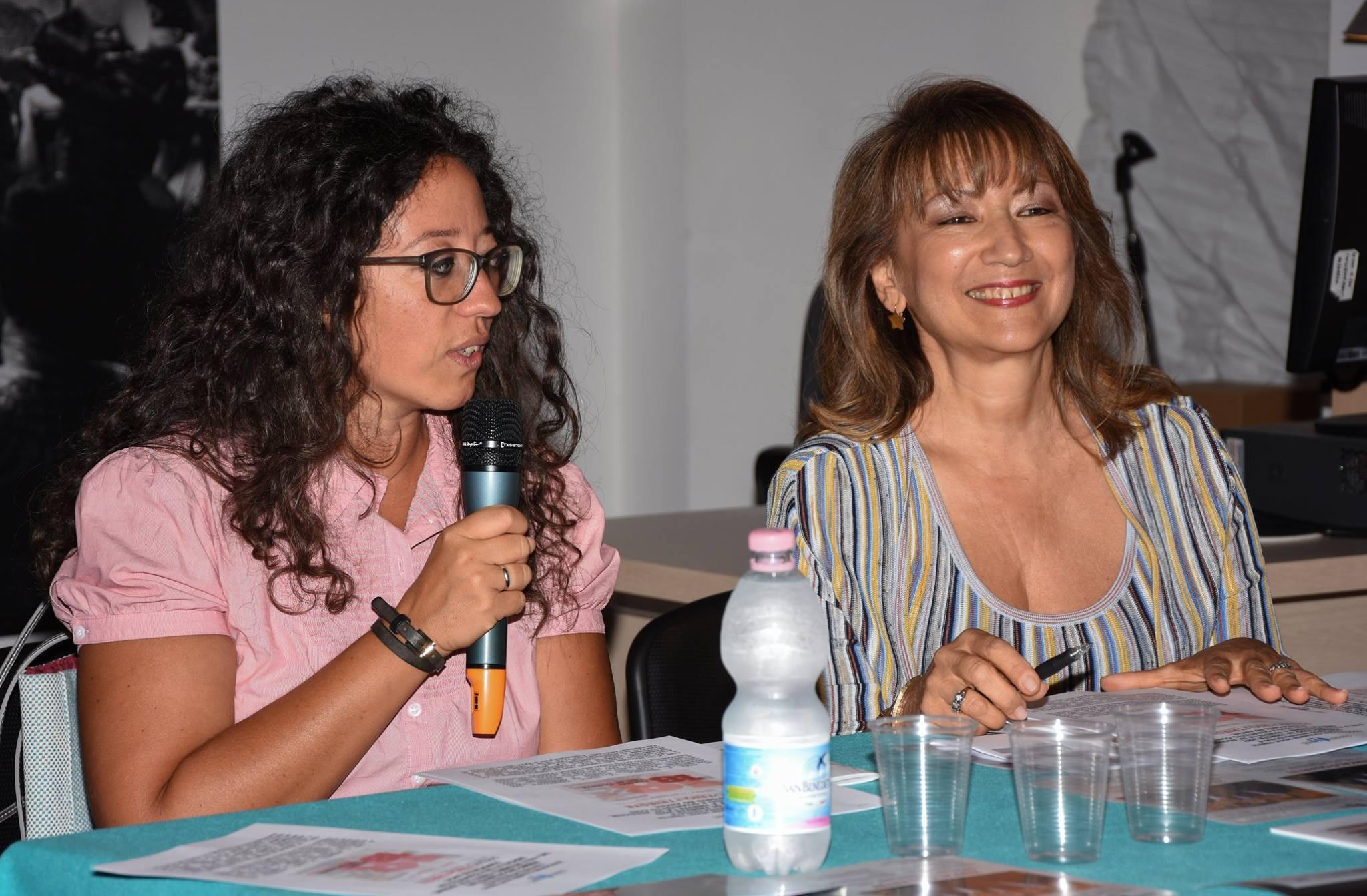 Serena Tonel e Fedra Florit