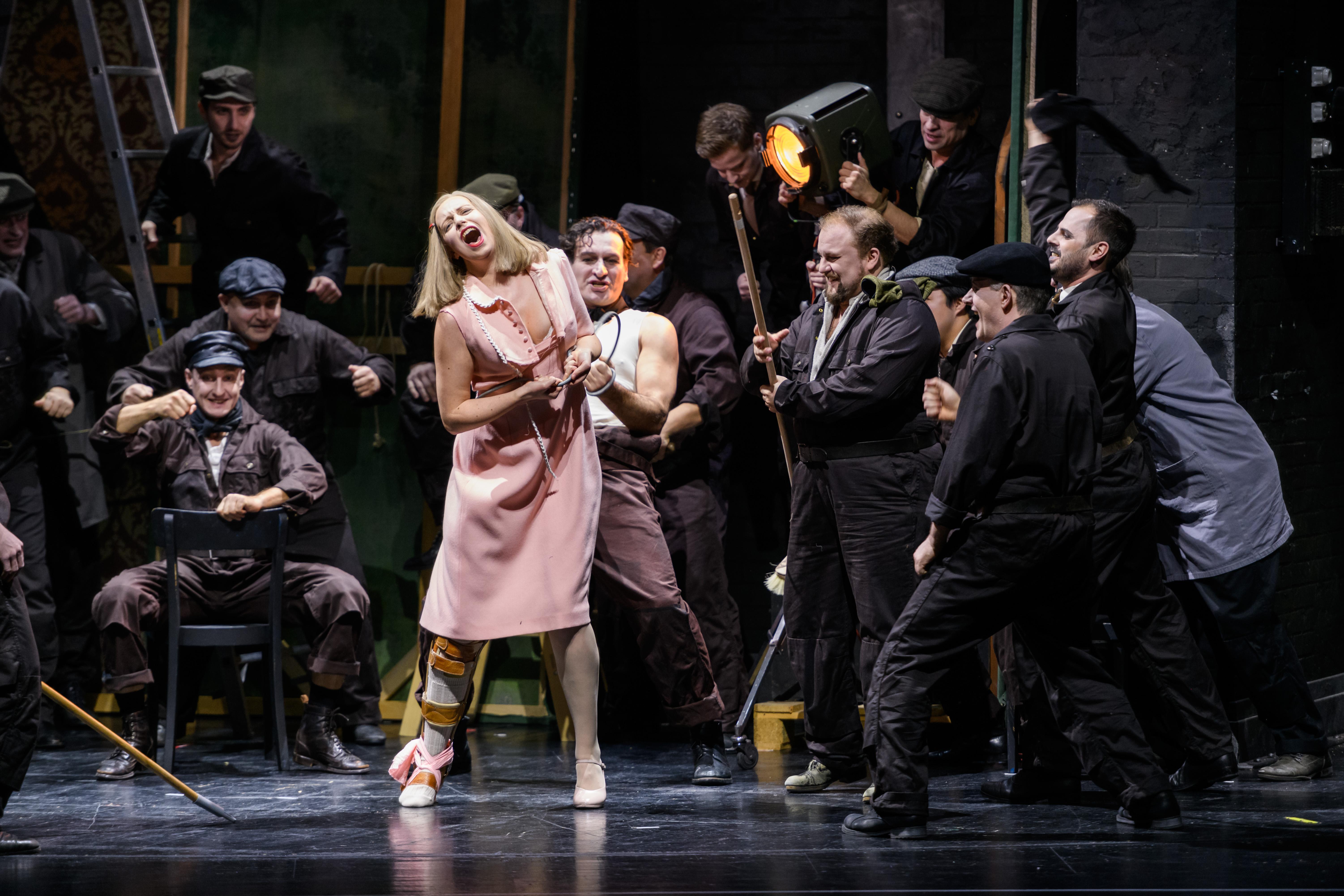 Klagenfurt - Stadttheater: Una Lady Macbeth del distretto di Mcensk@Arnold Pöschl