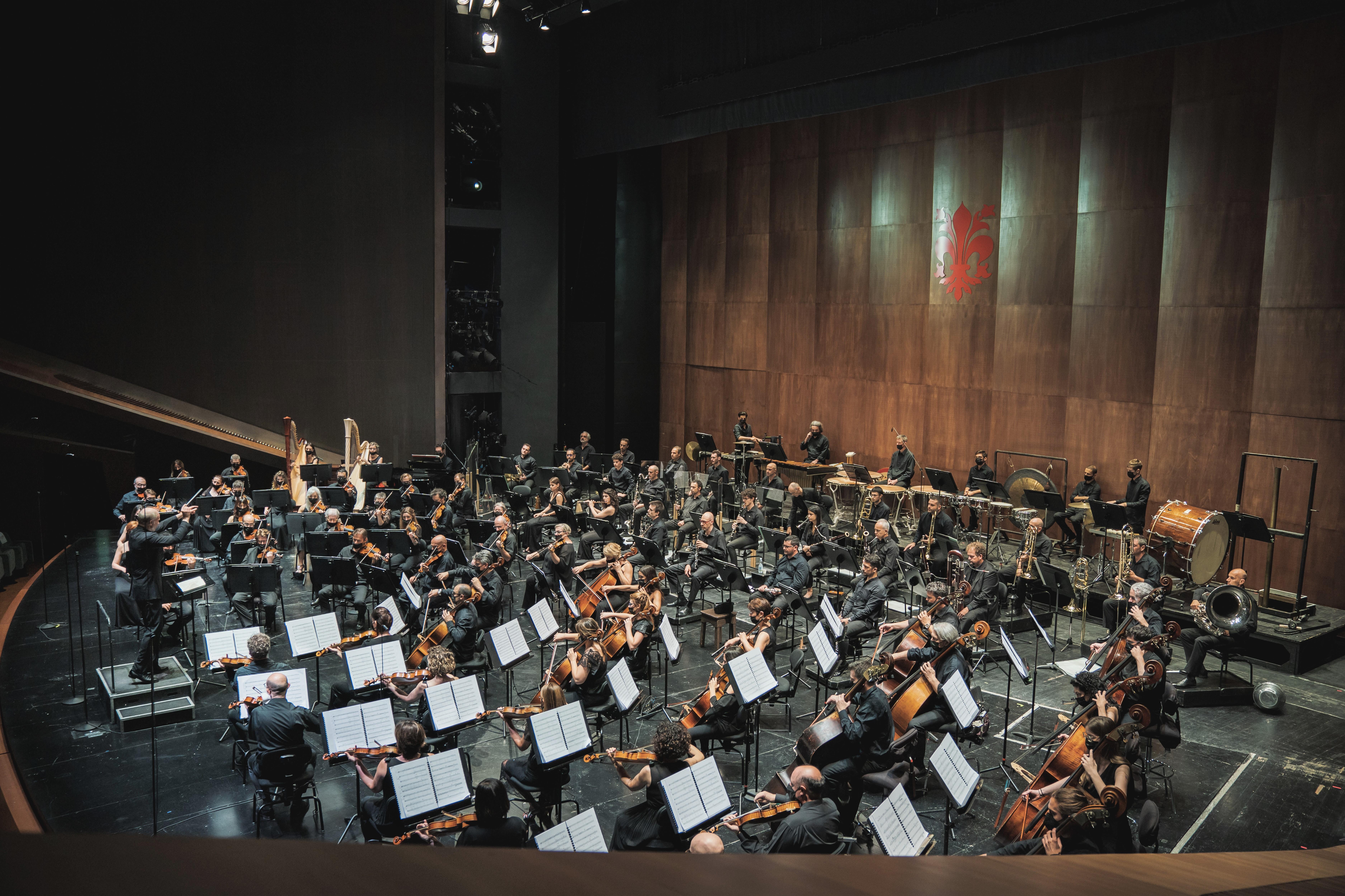 Gianadrea Noseda e l'Orchestra del MMF (foto Michele Monasta)