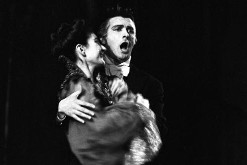 Franco Corelli con Maria Callas in Fedora – Scala, 21 maggio 1956 (Archivio Teatro alla Scala)