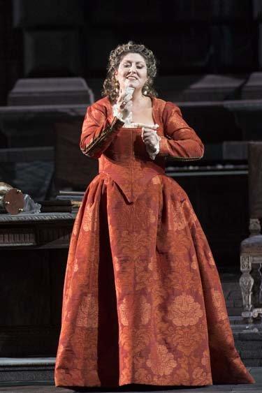 Anna Pirozzi, Elvira nell'Ernani in scena a Roma - foto di Silvia Lelli