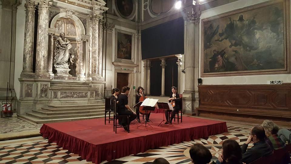 Quartetto Akilone alla Scuola Grande di San Giovanni Evangelista - Ph SVC