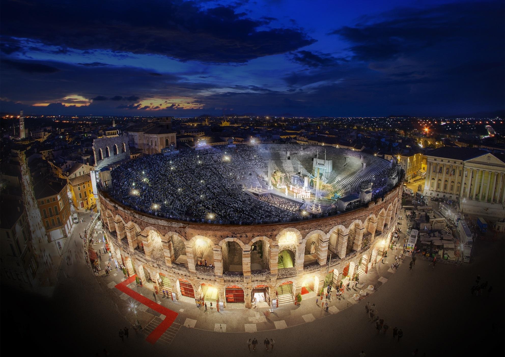 Calendario Arena Verona 2020.Aperte Le Vendite Per L Arena Di Verona Opera Festival 2020