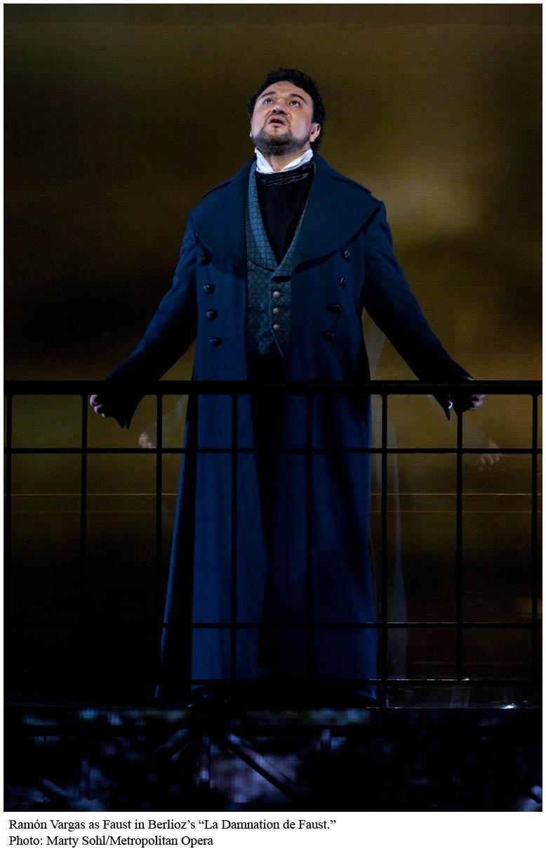 Ramón Vargas (Faust) nella