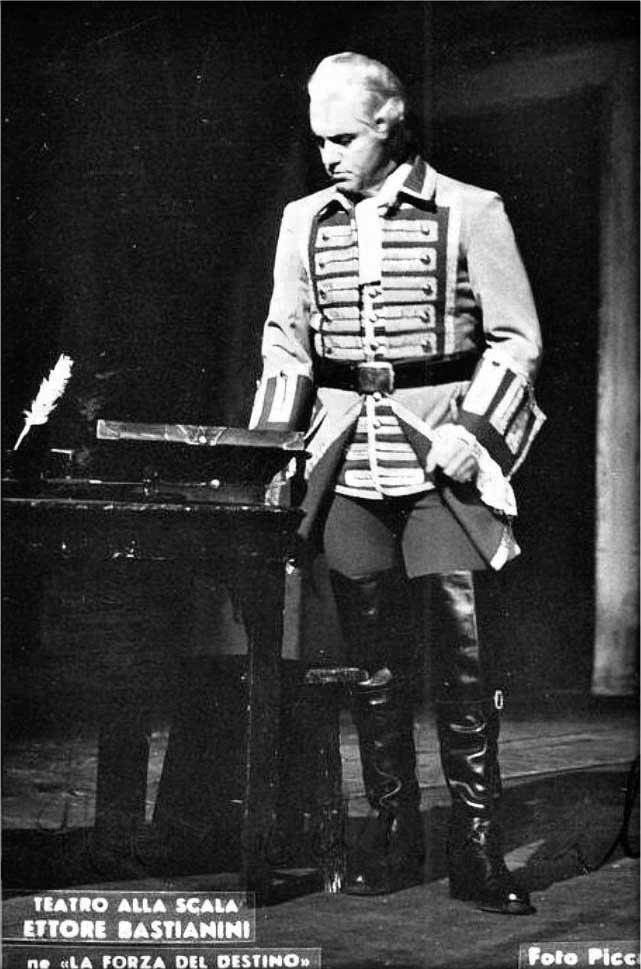 Ettore Bastianini nel ruolo di Don Carlo