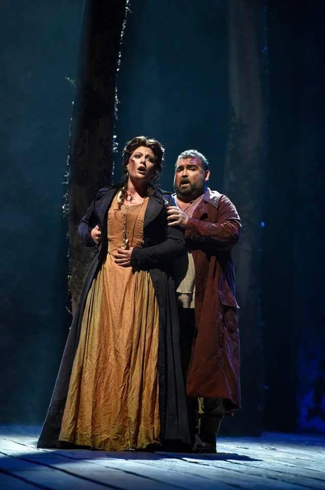 I Masnadieri all'Opera di Bilbao con Aquiles Machado
