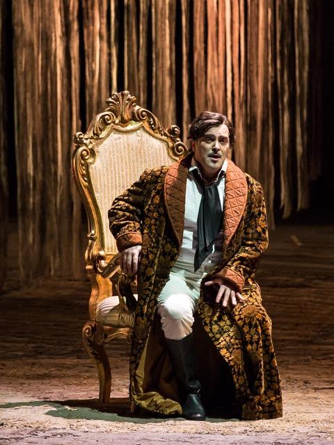 Piero Pretti nel ruolo del Duca di Mantova - Opera di Roma