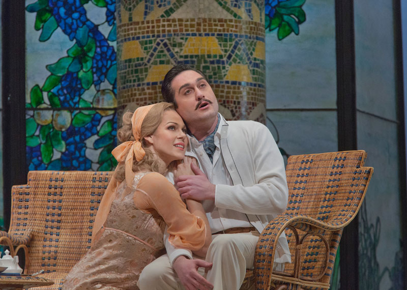 LA RONDINE at the MET (con G.Filianoti) - Copyright Ken Howard Metropolitan Opera House