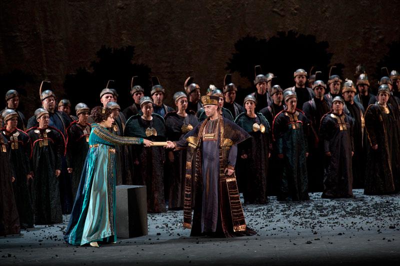 Tatiana Serjan e Luca Dall'Amico - foto di Silvia Lelli - Opera di Roma