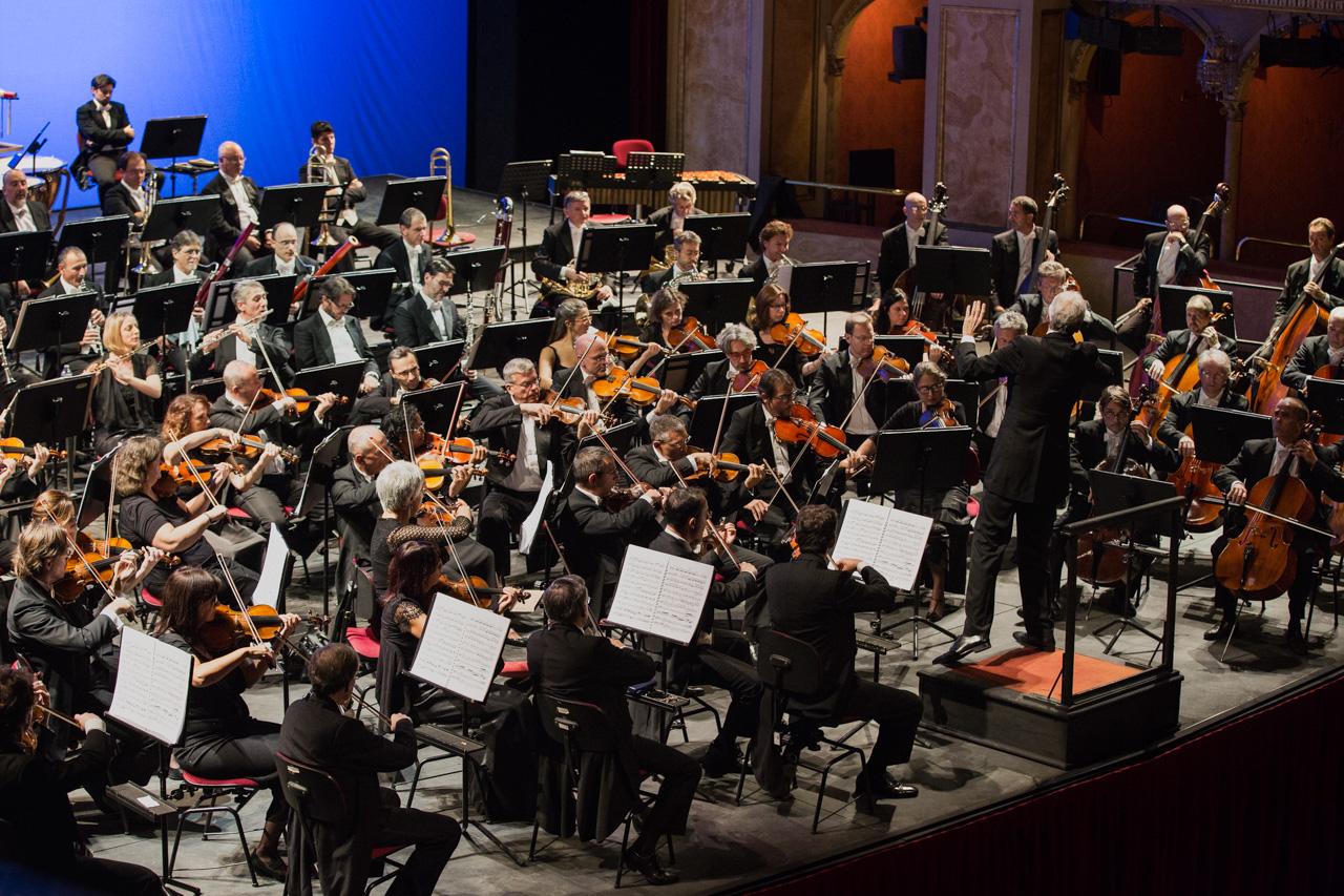 L'Orchestra del Teatro dell'Opera di Roma nei