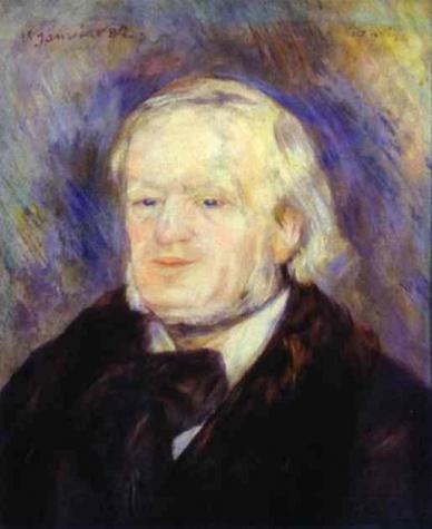 Wagner ritratto da Renoir