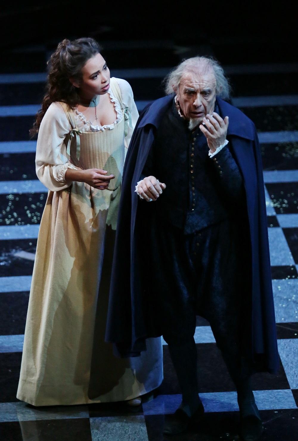 Nadine Sierra e Leo Nucci - ph. Teatro alla Scala