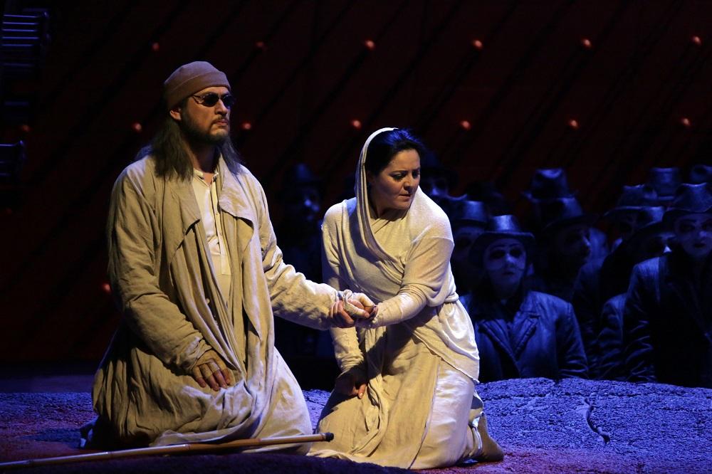 Alexander Tsymbalyuk e Maria Agresta: Foto Brescia/Amisano – Teatro alla Scala