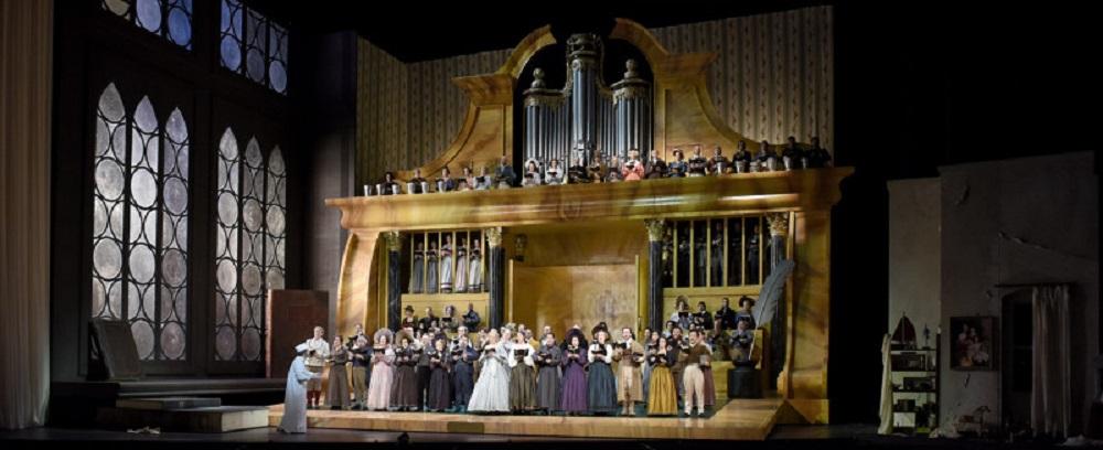 Gerald Finley (Hans Sachs) ©Vincent Pontet / Opéra national de Paris