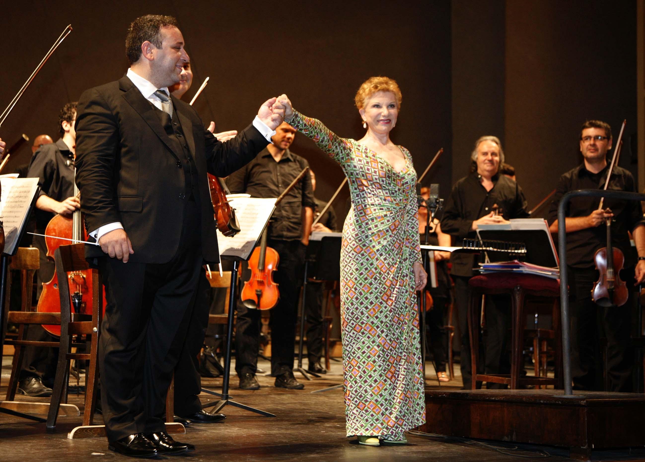 Mariella Devia e Antonino Fogliano - Foto Amati Bracciardi
