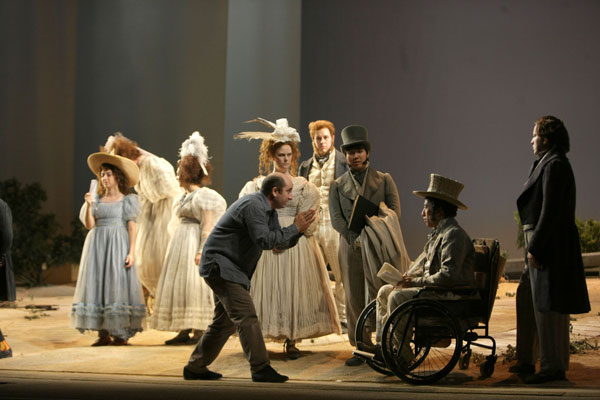 Antonio Albanese durante le prove alla Scala - copyright: Marco Brescia Teatro alla Scala