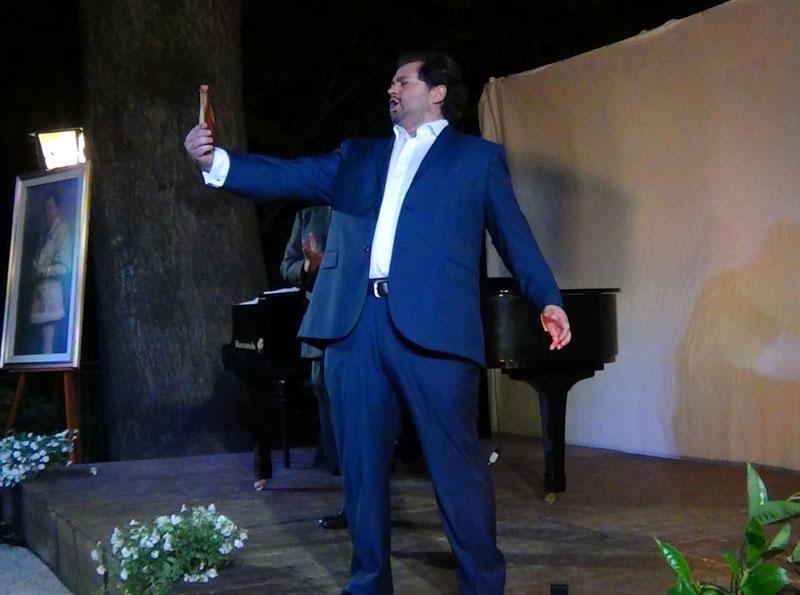 Celso Albelo durante il concerto - foto di Danilo Boaretto