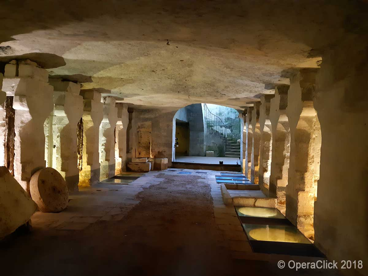 ex frantoio ipogeo Bacile oggi teatro sotterraneo