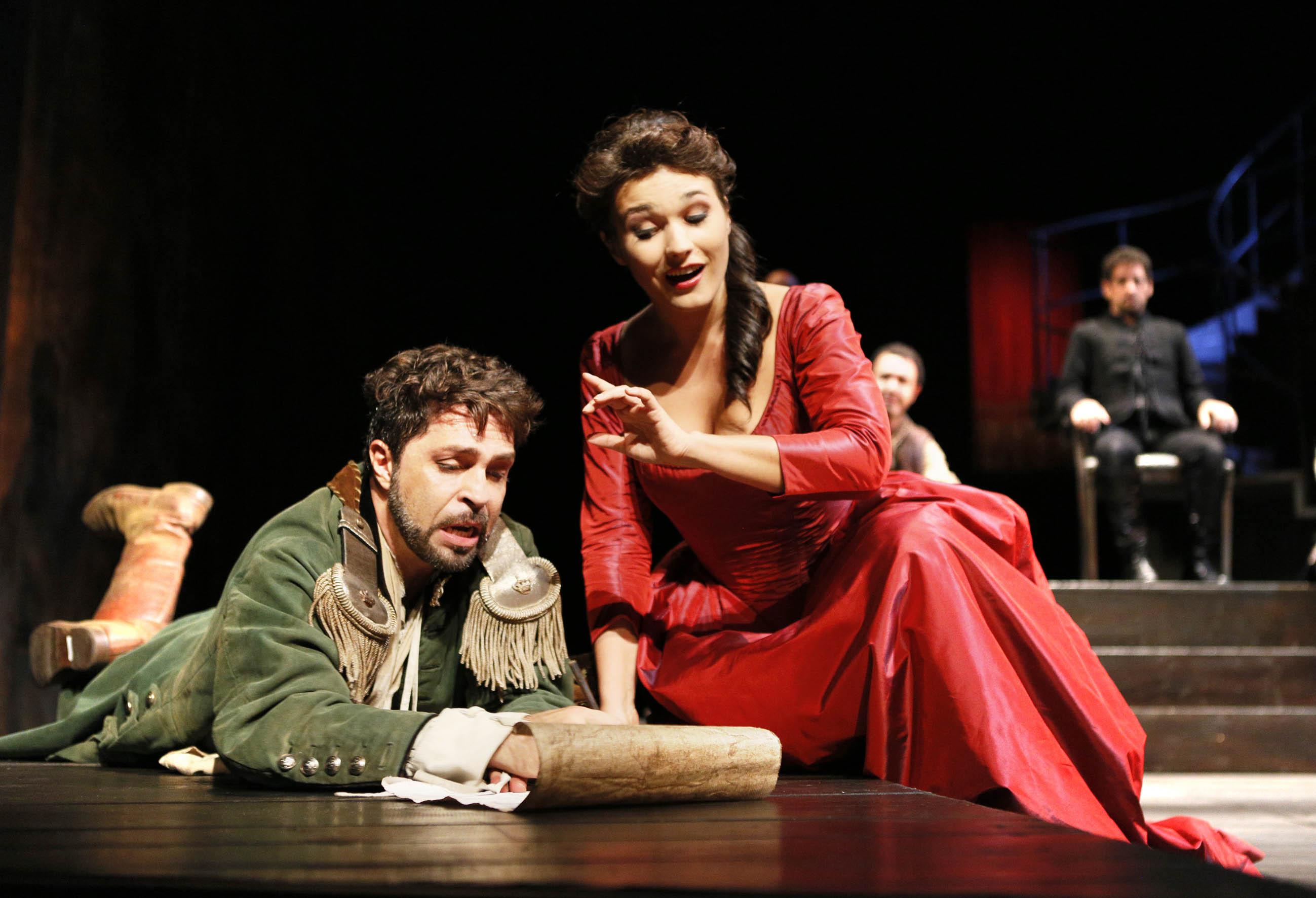 Paolo Bordogna e Olga Peretyatko - Foto Amati Bracciardi