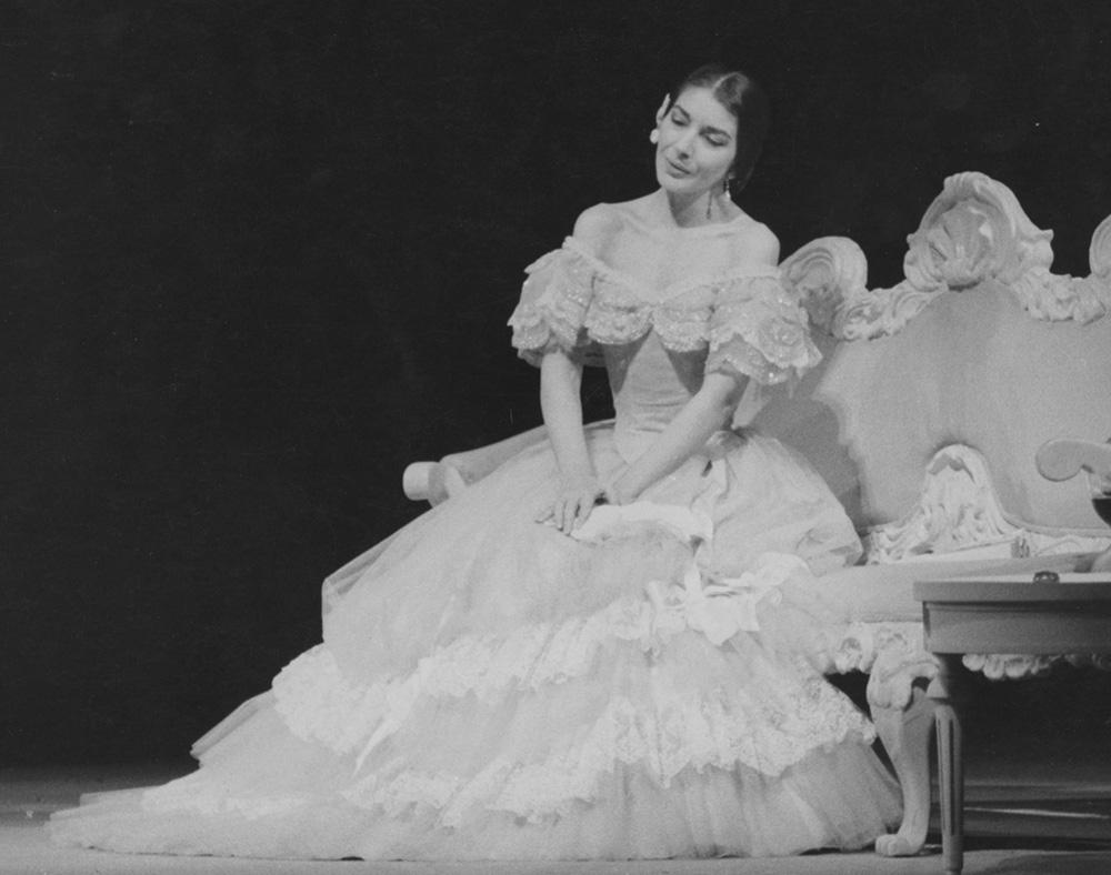 Maria Callas in Traviata a Londra