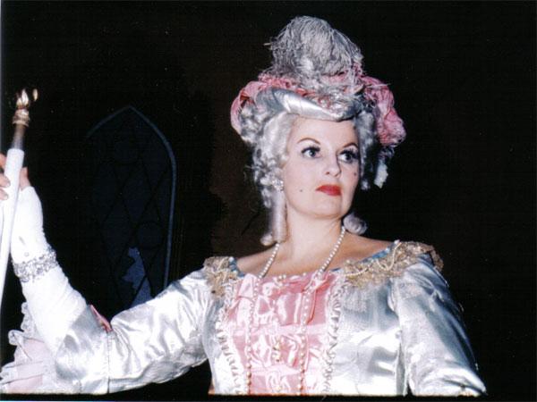 """Anna de' Cavalieri - Marescialla nel terzo atto del """"Rosenkavalier"""" New York City Opera,1960"""
