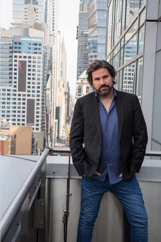 Massimo Cavalletti a New York - Photo Elia