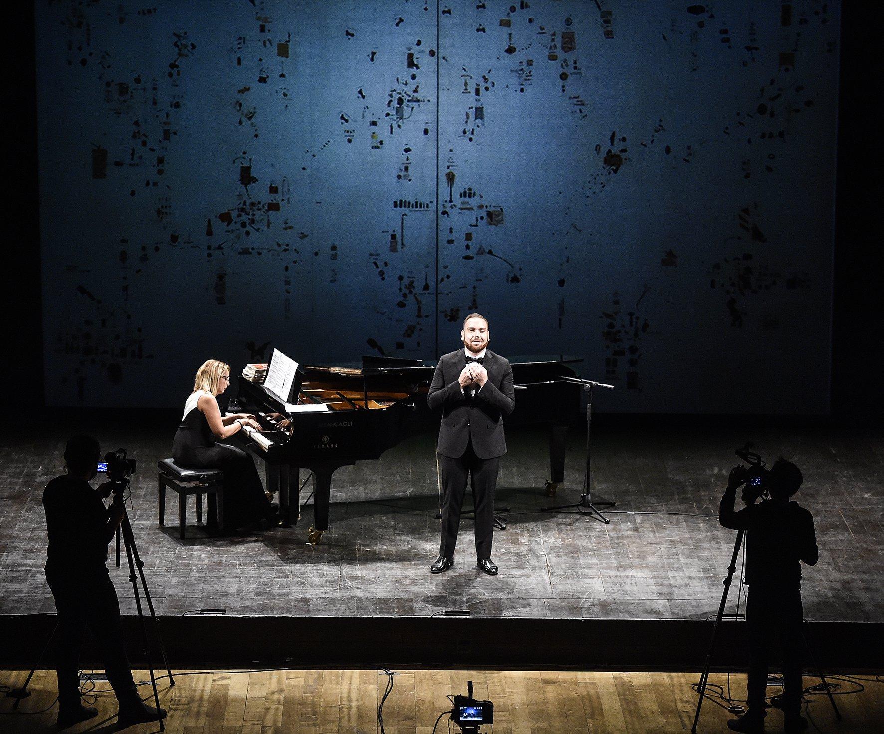 Marco Ciaponi -  Foto dalla pagina Facebook del Teatro Goldoni