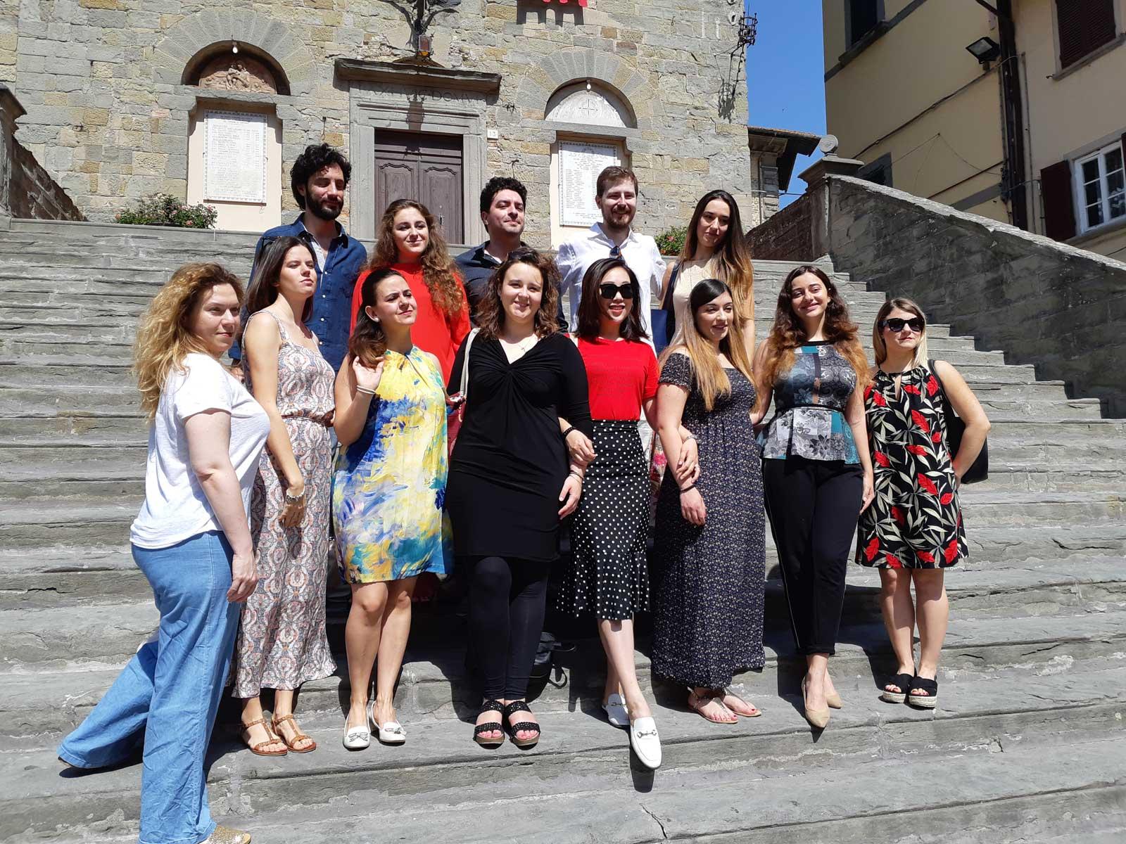gli allievi di Corso d'Opera 2018