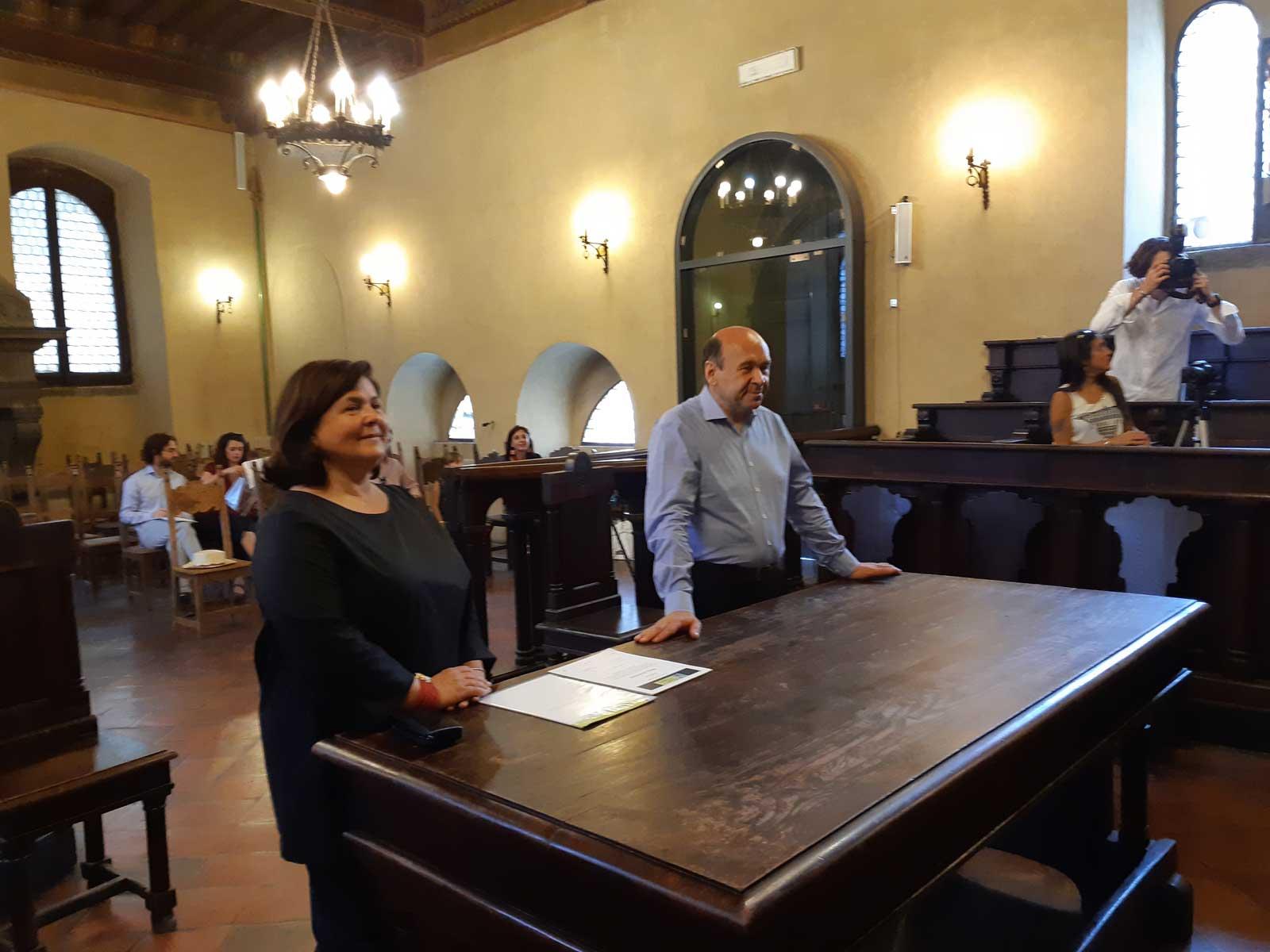 Raffaella Coletti e Dominique Meyer