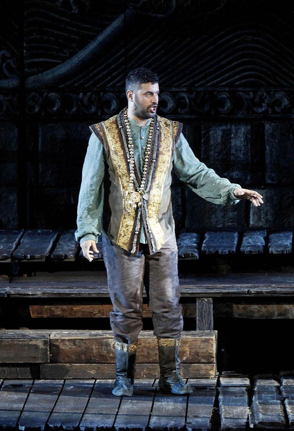 Dario Di Vietri - nel ruolo di Calaf (Turandot)
