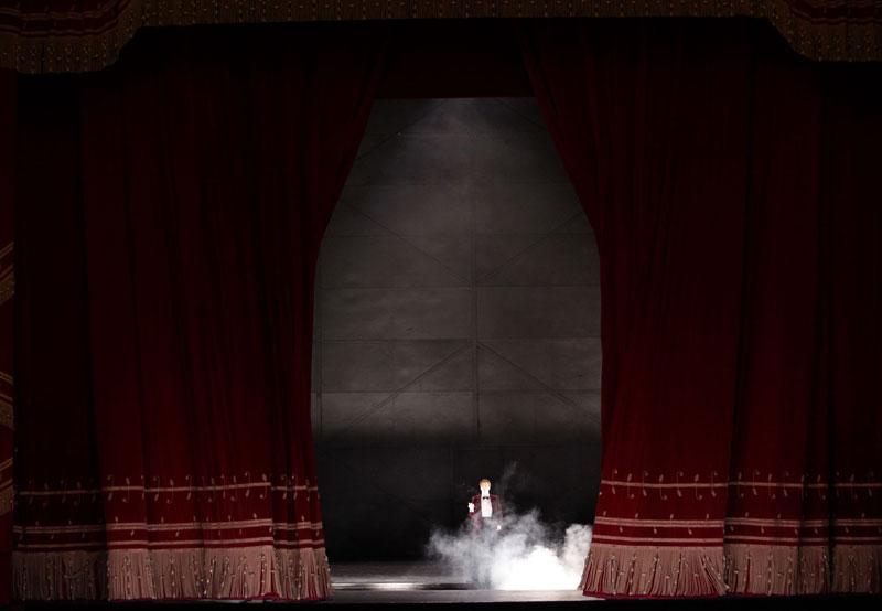 Peter Mattei nella scena di chiusura - © Brescia\Amisano – Teatro alla Scala