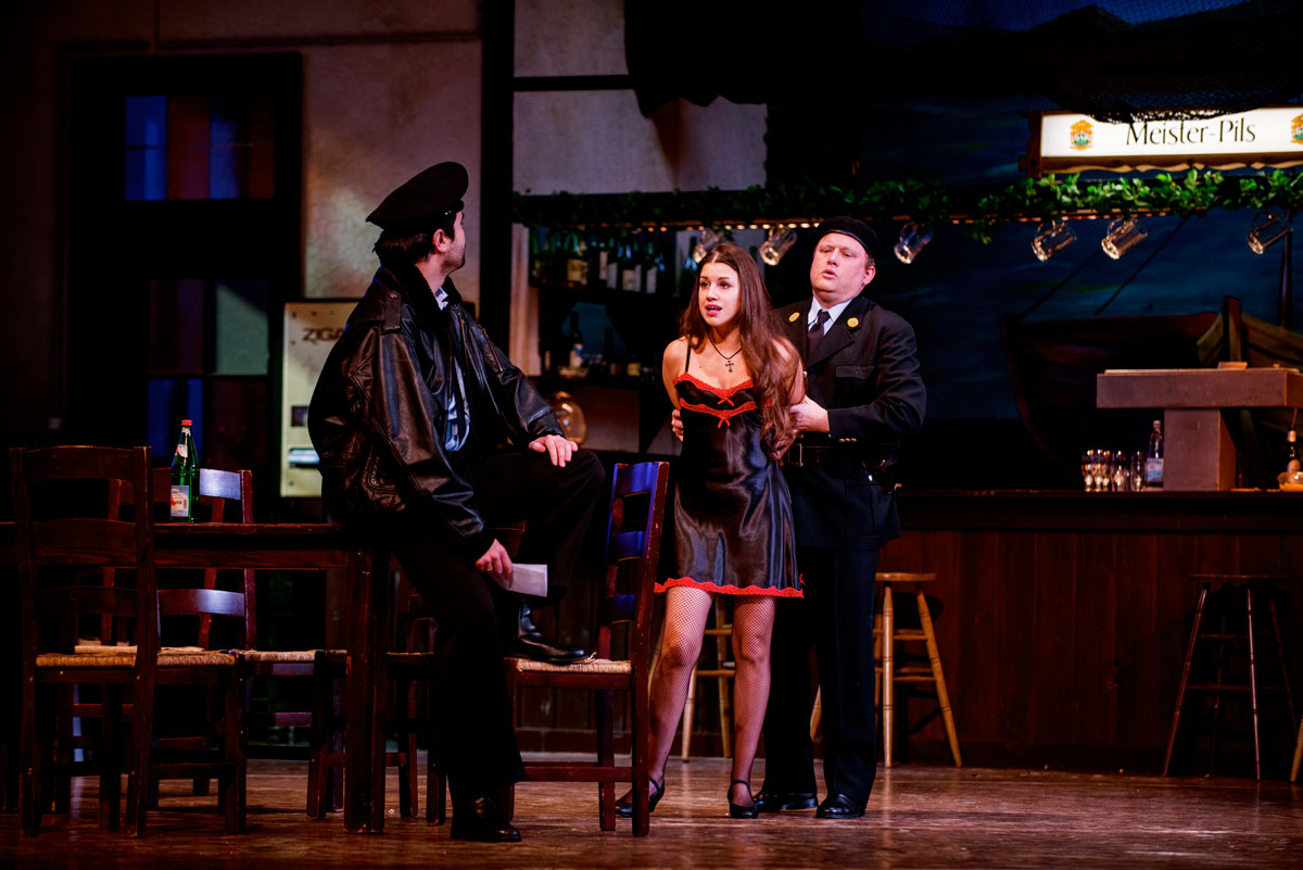 Tamara Gura in Carmen all'Aalto Theater di Essen - foto di Mario Perricone