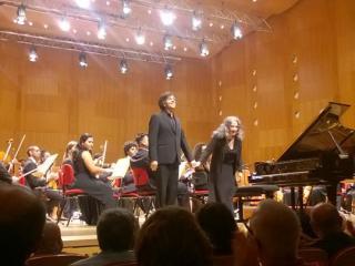 Ricardo Castro e Martha Argerich (foto Fabio Bardelli)