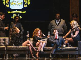 Seattle Opera presents Rigoletto, with Liparit Avetisyan (the Duke of Mantua) and Lester Lynch (Rigoletto). Sunny Martini photo