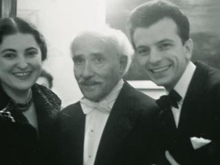 Arturo Toscanini, Guido Cantelli e la moglie Iris