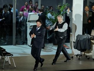 Marcelo Àlvarez e Zeljko Lucic - foto del Teatro alla Scala