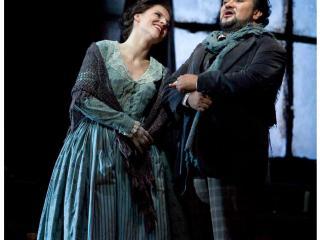 Ramón Vargas (Rodolfo) e Maija Kovalevska (Mimí) Metropolitan Opera House New York  Copyright: Marty Sohl/Metropolitan Opera