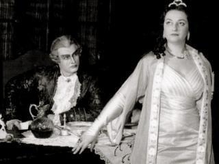 Una giovanissima Caballé in Tosca con Claude_Heater - Basilea 1956