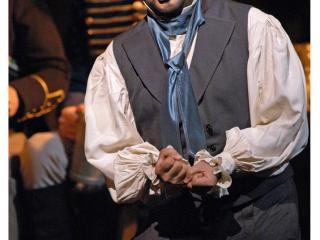 Ramón Vargas (Hoffmann) Metropolitan Opera House New York Copyright: Marty Sohl/Metropolitan Opera