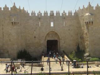 Gerusalemme: porta di accesso alla città vecchia