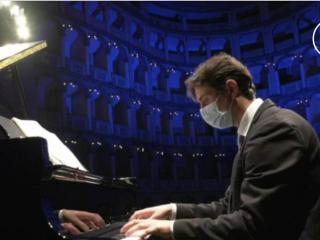 Valerio Galli - immagine tratta dalla trasmissione tv