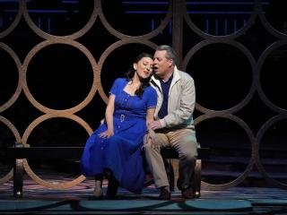 Rosa Feola as Gilda and Matthew Polenzani - Ph: Ken Howard / Met Opera