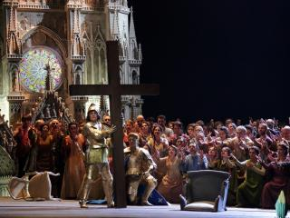 Scena d'insieme - Foto Teatro alla Scala