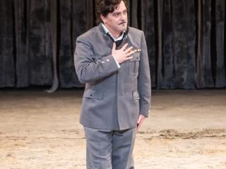Piero Pretti nel ruolo del Duca di Mantova (Rigoletto) - Opera di Roma
