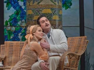 LA RONDINE at the MET (con G.Filianoti) - Copyright Ken Howard Metropolitan Opera House
