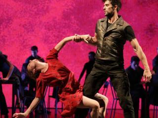 Roberto Bolle e Antonella Albano - ph. credit Brescia/Amisano - Teatro alla Scala