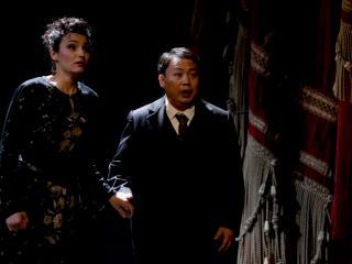 Anna-Doris Capitelli e Chuan Wang - ph. credit Brescia/Amisano - Teatro alla Scala