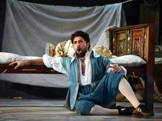Paolo Bordogna (Figaro nelle Nozze a Sidney) - foto di Georges Antoni